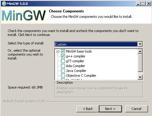 MinGW 5 install (2)